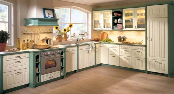 Two-tone-kitchen-cabinets